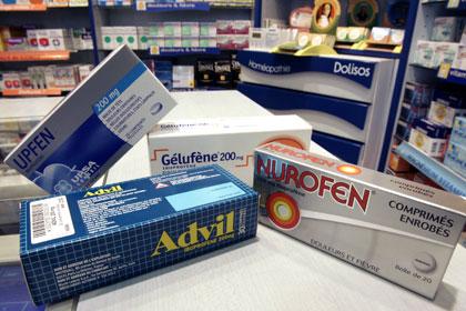Препараты ибупрофена
