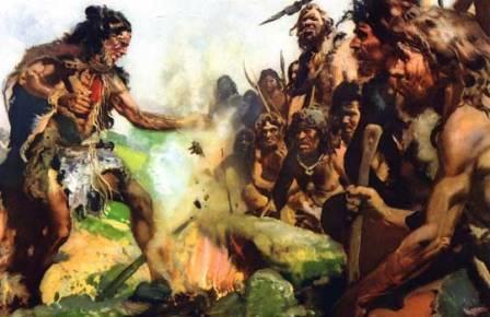 Использование огня первобытным человеком