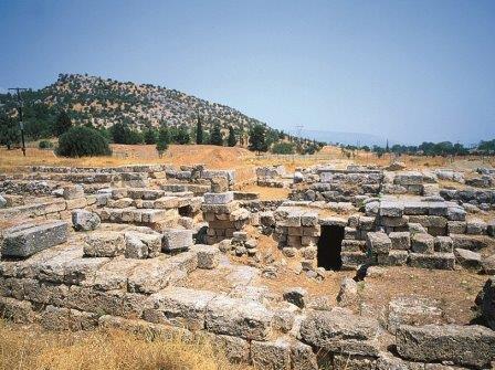 Западные ворота и акрополь Эретрии