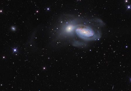 Галактика NGC 3227