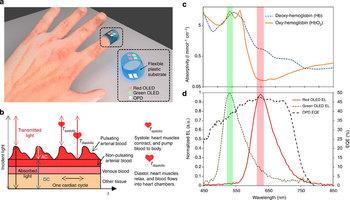 Исследователи из Беркли смогли сконструировать сенсор-пульсоксиметр, который состоит только из органических оптоэлектронных компонентов.