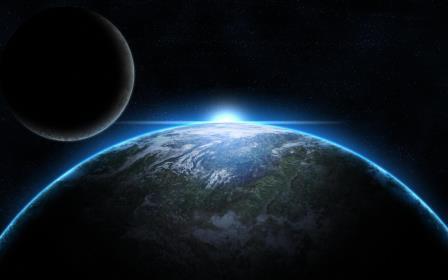 Земля дважды  теряла свою атмосферу полностью