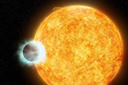 Звезда и ее планета-гигант