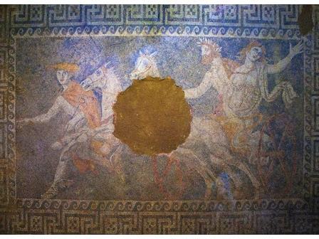 Мозаика в амфиопольской гробнице