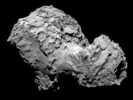 На комете Чурюмова-Герасименко открыли «времена года»
