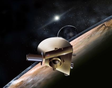 Космический зонд New Horizons приближается к Плутону