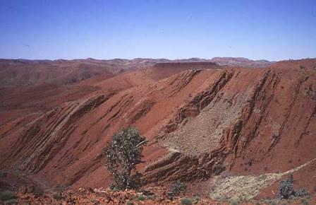 Пустынный пейзаж северо-западной Австралии