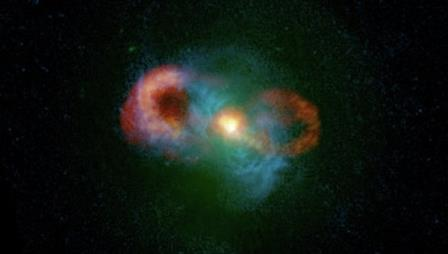 Черная дыра уничтожает звездообразование в «Чайной чашке»
