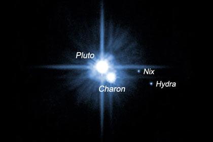 НАСА представило видео вращающихся Плутона и Харона