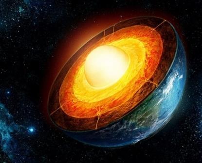 Ядро Земли является несимметричным