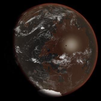 Авторское представление об экзопланете, на которой аммиак выполняет функцию воды