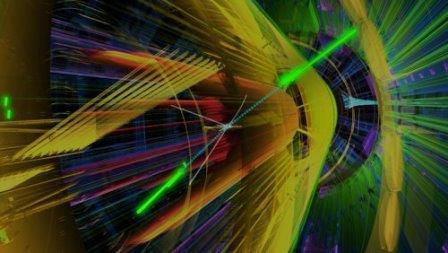 Одним из продуктов распада бозона Хиггса могут быть частицы темной материи