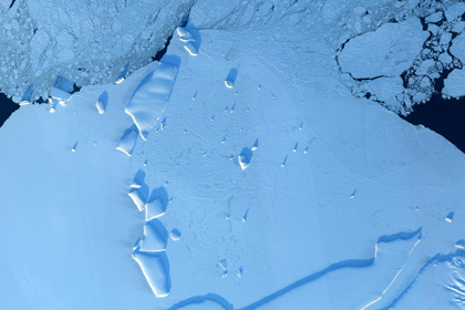 Таяние антарктического ледника