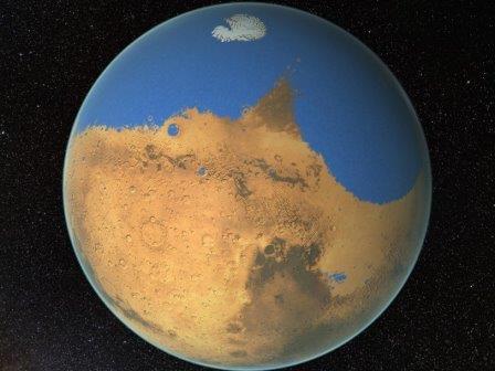 Древний марсианский океан