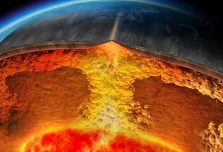 Бывшие литосферные плиты могут миллионами лет плавать в раскаленной толще мантии Земли