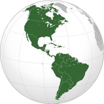 Северная и Южная Америки