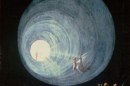 Иероним Босх. Фрагмент картины «Успение блаженных»