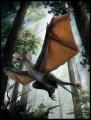 """Так художник представил себе """"странное крыло"""", динозавра-""""бэтмена"""""""