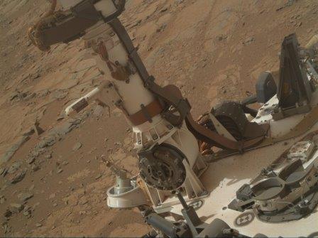 Прибор REMS на борту марсохода Curiosity