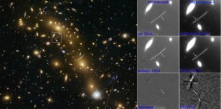 Ученые обнаружили необычный взрыв звезды