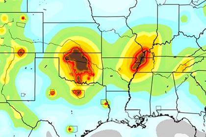 Добычу нефти и газа в США признали причиной мощных землетрясений