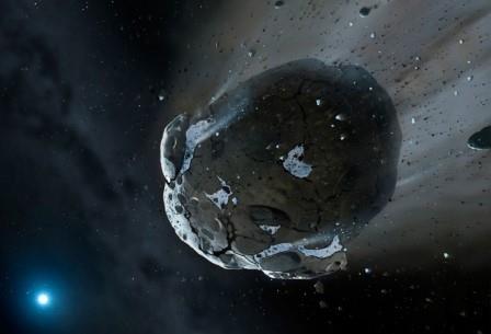 Астероид c запасами воды