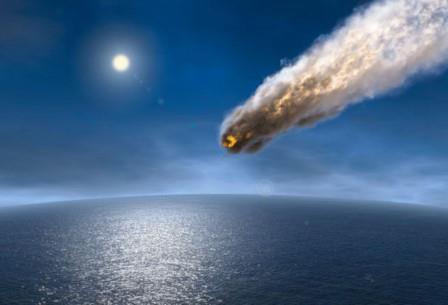 Чуть больше 3 млрд лет назад Земля столкнулась с парой громадных астероидов