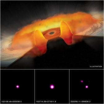 Хищные квазары питаются газопылевыми «пончиками»