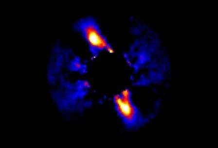 «Пояс Койпера» у звезды HD 115600 в 360 световых годах от нас