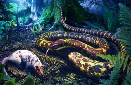 Гипотетический предок современных змей