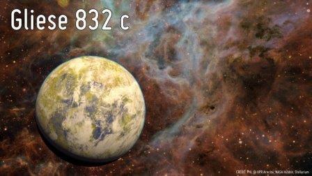 Экзопланета Gliese 832c