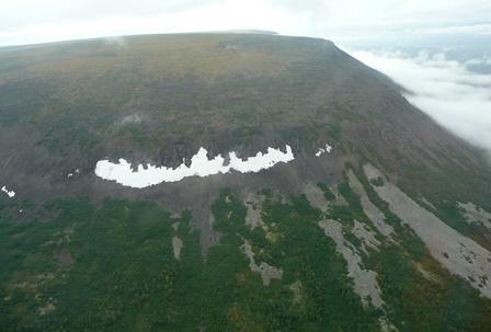 Базальтовые скалы плато Путорана, образованного траппами