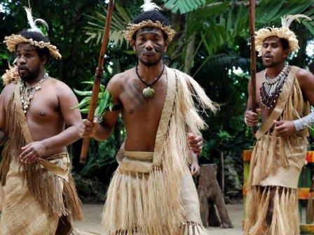 Жители острова Эфате (Республика Вануату)