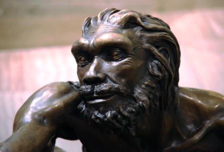 Человек гейдельбергский, живший 800-200 тыс. лет назад