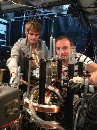 Охлаждающая установка, разработанная учеными для охлаждения атомов до абсолютного нуля