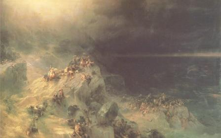 Всемирный потоп. Айвазовский