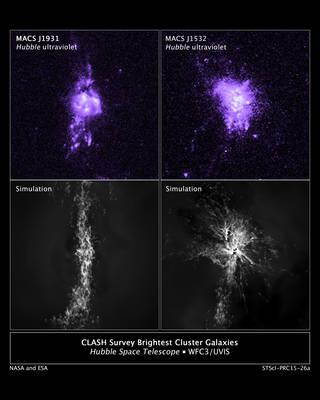 Фонтаны черных дыр оказались участниками процесса звездообразования
