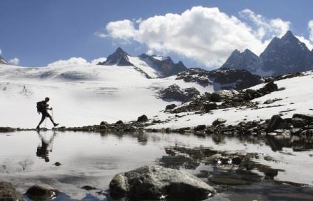 В XXI веке ледники стали таять значительно быстрее