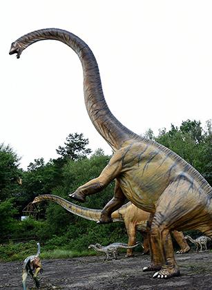 Реконструкция внешнего вида маменчизавра