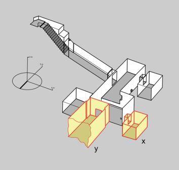Схема гробницы Тутанхамона со скрытыми комнатами