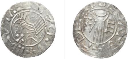 Серебряная монета пражской чеканки
