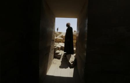 В Каире найдено святилище фараона последней египетской династии