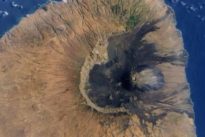 Вулкан на острове Фогу