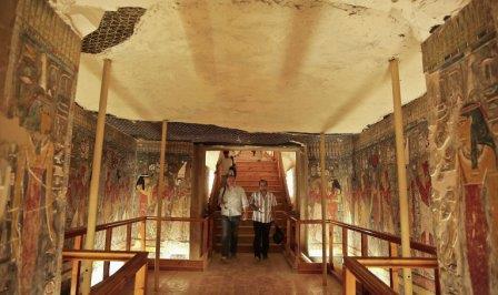 Гробница Тутанхамона в Египте. Архивное фото