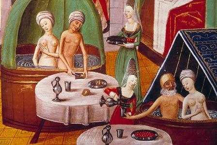 Средневековая баня