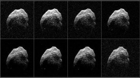 Изображения астероида 2015 TB145