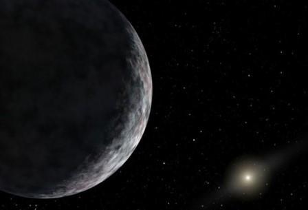 анее титул самого далекого объекта Солнечной системы носила карликовая планета Эрида, открытая в 2005 году Майком Брауном