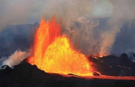 Древний вулканизм не мог убить динозавров