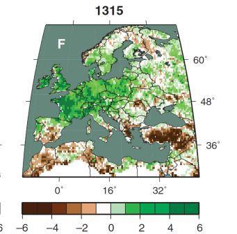 """""""Великий потоп"""" в Европе в 1315 году"""