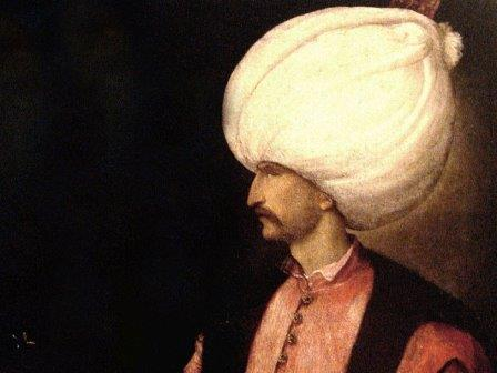 Сулейман Великолепный. Фрагмент картины Тициана, ок. 1530 г.